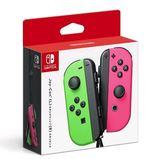 (缺)(公司貨)任天堂 漆彈 Switch主機 NS Joy-Con 左右手控制器+LR腕帶 桃紅 綠色手把$9999