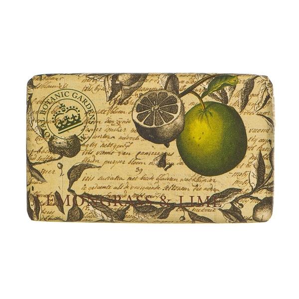 岡山戀香水~Kew Gardens 英國皇家植物園 乳木果油天然香皂 240g (檸檬草青檸) ~優惠價:299元
