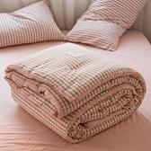 冬被 水洗棉被子四件套 春秋冬被加厚保暖全棉冬天棉被被芯軟-Ballet朵朵