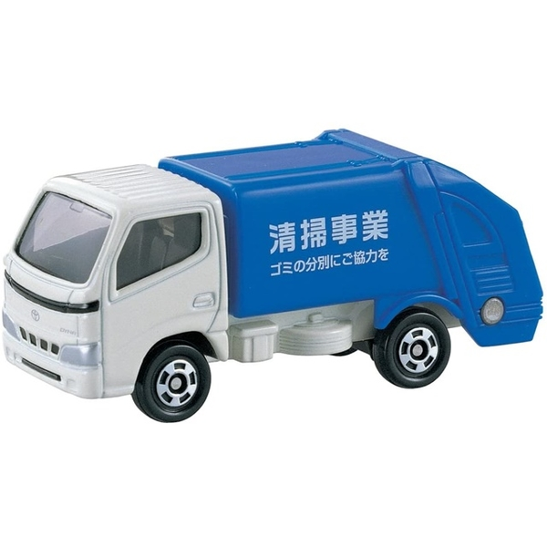 小禮堂 Tomica多美小汽車 Toyota 垃圾車 45 4904810-74137