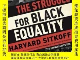 二手書博民逛書店The罕見Struggle For Black EqualityY255562 Harvard Sitkoff