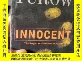 二手書博民逛書店[英文原版]Innocent罕見 Scott Turow Hac