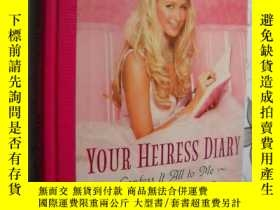 二手書博民逛書店Your罕見Heiress Diary: Confess It