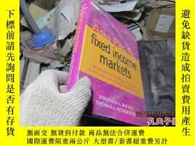 二手書博民逛書店asia-pacific罕見fixed income marke