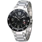 BALL 波爾 Engineer GMT 兩地時間飛行機械腕錶 GM3090C-SAJ-BK