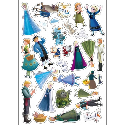 冰雪奇緣 魔幻國度磁貼書