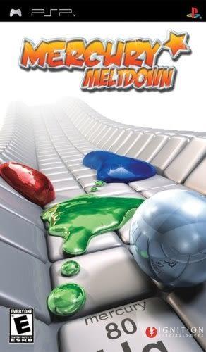 PSP Mercury Meltdown 水銀革命(美版代購)