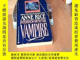 二手書博民逛書店interview罕見with the vampireY1564