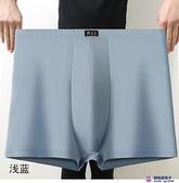 4條裝 超大碼78xl寬松內褲紅色純棉高腰男士內褲純棉平角褲頭全棉超級品牌【櫻桃】