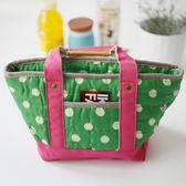 手提絎縫款保溫飯盒包便當袋飯盒袋保冷飯盒袋拉鏈保鮮包加厚保溫 森活雜貨