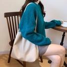 大包女2020年新款包包韓版ulzzang女包單肩包大容量高級感托特包【果果新品】