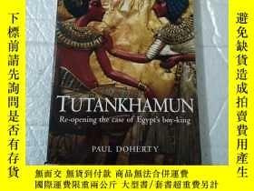 二手書博民逛書店THE罕見SECRET HISTORY OF TUTANKHAM