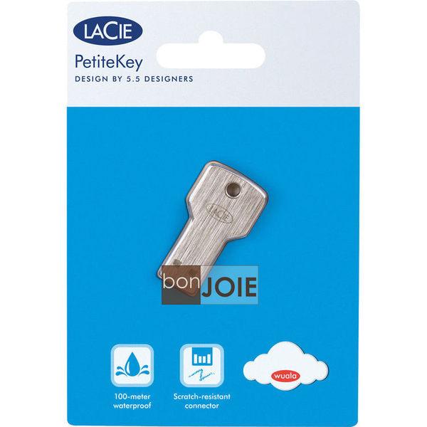 ::bonJOIE:: 美國進口 LaCie PetiteKey 32G 鑰匙型 USB 2.0 防水隨身碟 Flash Drive 金屬 iamkey Cookey 32GB Petite Key