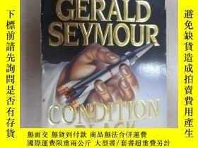 二手書博民逛書店外文書罕見CERALD SEYMOUR CONDITION BLACK(共443頁,32開)Y15969