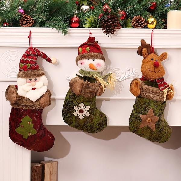聖誕禮品40  聖誕樹裝飾品 禮品派對 裝飾 聖誕襪 禮物袋