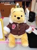 (現貨&採購實拍)日本 Disney Store 迪士尼商店 限定 小熊維尼 冬季連帽外套 玩偶娃娃