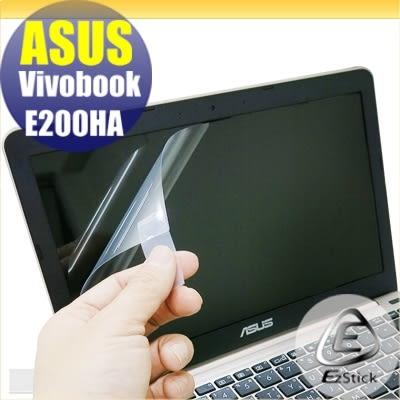 【Ezstick】ASUS Vivobook E200HA 專用 靜電式筆電LCD液晶螢幕貼 (可選鏡面或霧面)