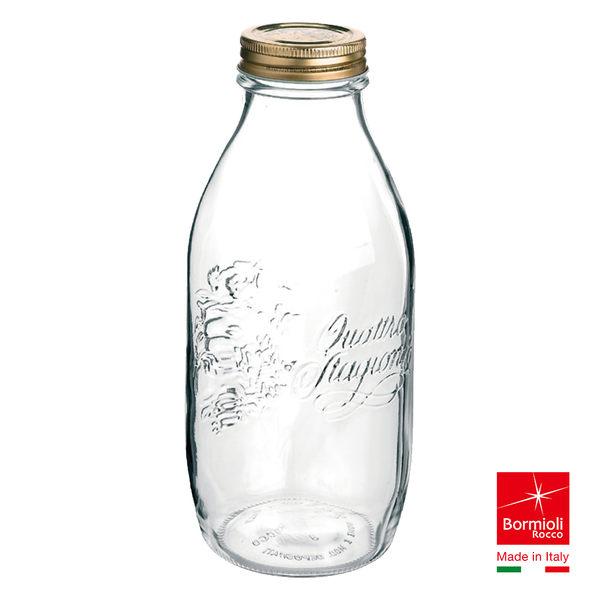 義大利Bormioli Rocco 四季牛奶罐(1L) 密封罐 飲料罐 儲物罐  重複使用 保鮮 好生活