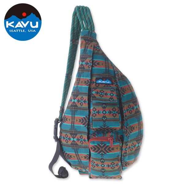 【西雅圖 KAVU】Rope Bag 休閒肩背包 太平洋毯 #923