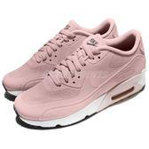 【粉粉DER】Nike 休閒慢跑鞋 Air Max 90 Ultra 2.0 GS 粉紅 白 氣墊 女鞋 大童鞋【PUMP306】 869951-602