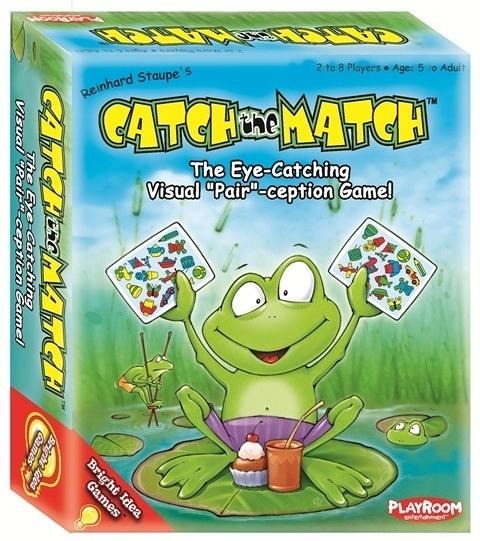 【KANGA GAMES】Catch the Match 家庭益智派對桌上遊戲