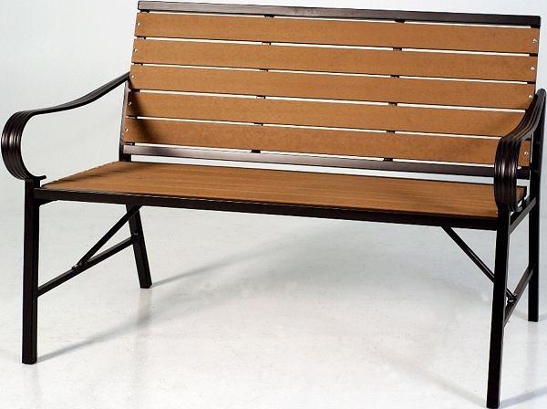 HY-Y366-4  塑木公園椅