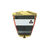 Channel Islands 衝浪配件 DILLON 2 PC PAD BLACK/1SZ FITALL 兩片式防滑墊 / 止滑墊 - (黑白)