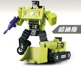 全館85折兒童節禮物變形玩具金剛大小力神工程車六組合體小比例機器人兒童禮物