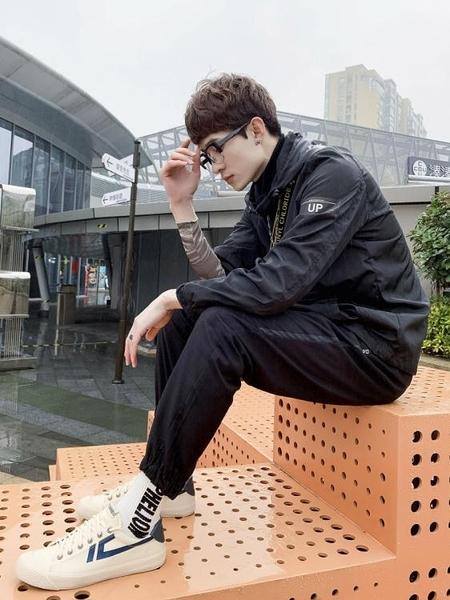 帆布鞋 春季帆布鞋男韓版夏季透氣布鞋復古板鞋百搭港風休閒鞋情侶款 莎瓦迪卡