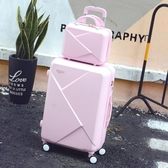 拉桿箱萬向輪旅行箱韓版子母箱學生男女潮ins24寸擴展行李箱  蘑菇街小屋 ATF