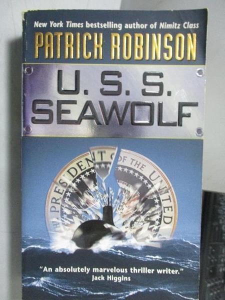 【書寶二手書T5/原文小說_ORE】U.S.S. Seawolf_Patrich Robinson