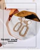 網紅耳釘女純銀氣質韓國高級感耳環2019新款潮耳夾冷淡風耳飾復古 雙12購物節