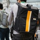 相機後背包(小款)-時尚拼色戶外休閒雙肩攝影包2色71a44[時尚巴黎]