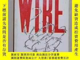 二手書博民逛書店英文原版罕見The Wire by Nik Gowing 著Y1