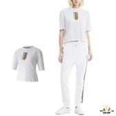 Puma TFS 女 白色 短袖 上衣 基本系列 棉質 運動 休閒 短T 圓領衫 短袖T恤 59774762