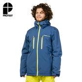PROTEST 男 機能防水保暖外套 (汽油藍) CLAVIN SNOWJACKET