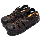HI-TEC Trail OX Shandal 拓荒者 黑 咖啡 橘 護趾涼鞋 水陸兩用 涼鞋 男鞋 米其林大底 【PUMP306】 O006003041