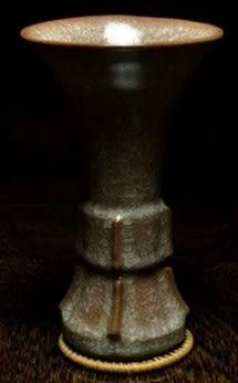 [協貿國際]  青瓷罇珍稀釉插花擺件 (1入)