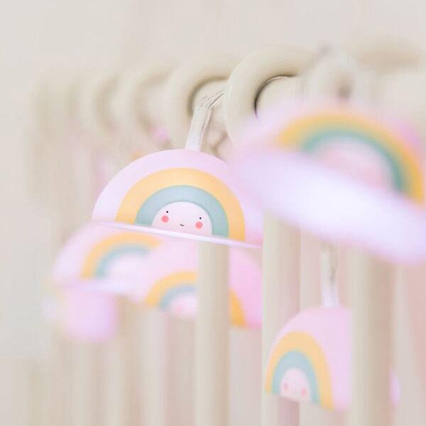 荷蘭a little lovely company彩虹LED燈串