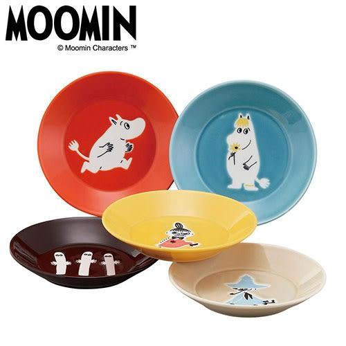 MOOMIN嚕嚕米日本製繽紛5色陶磁餐盤組(一組5個入)★funbox★YAMAKA_SJ27010