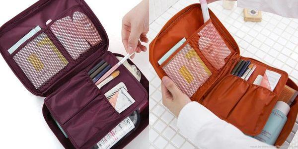 《39元專區》多功能防震盥洗包/化妝包/配件收納包