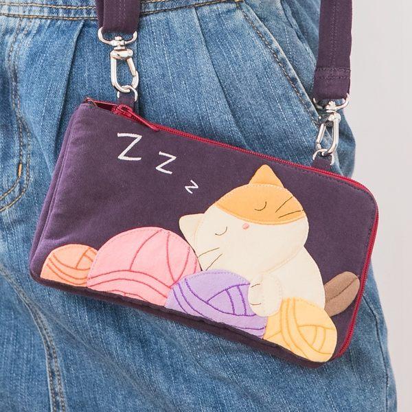二毛貓斜背包
