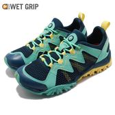 Merrell 戶外鞋 Tetrex Rapid Crest 綠 藍 越野 慢跑 透氣 運動鞋 女鞋【PUMP306】 ML12856