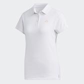 ADIDAS HEAT.RDY 女裝 短袖 POLO衫 網球 透氣 涼感 兩側開衩 白【運動世界】FS3793