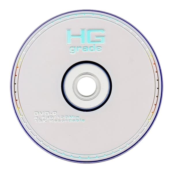 ◆特販↘+免運費◆HG GRADE 空白光碟片 中環 DVD-R 16X 4.7GB 光碟燒錄片 (50片裸裝)