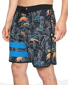 Hurley M BP TOUCAN 18 BLACK 海灘褲 (黑)
