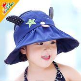 韓國夏天兒童帽子遮陽帽女童太陽帽寶寶防曬帽雙面空頂帽涼帽潮夏萬聖節