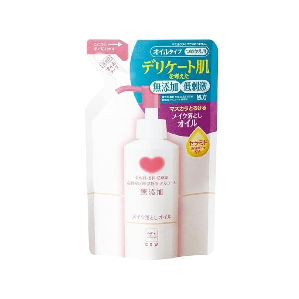 卸妝/臉部清潔 牛乳石鹼 ZERO卸妝油 130ml 補充包 dayneeds