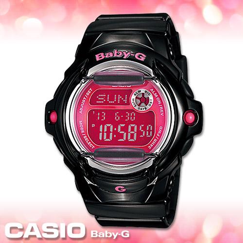 CASIO卡西歐 手錶專賣店  Baby-G BG-169R-1B 女錶 夏日風 活力休閒 防水200米 橡膠錶殼錶帶