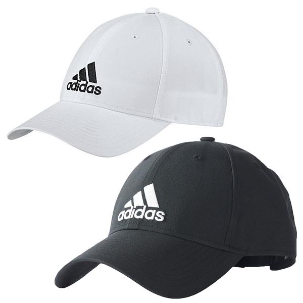 【現貨在庫】 Adidas 6-Panel Classic 3-Stripes Cap 帽子 老帽 黑 / 白 【運動世界】 S98159 / BK0794